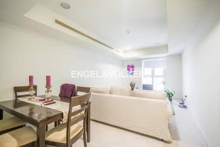 شقة 1 غرفة نوم للايجار في دبي مارينا، دبي - Middle Floor|Partial Sea View|Unfurnished