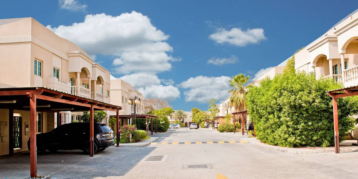2 Secure warm double story family attached villa with 4 Bedrooms and 1 maid's room in Al Garhoud ideal for a big family