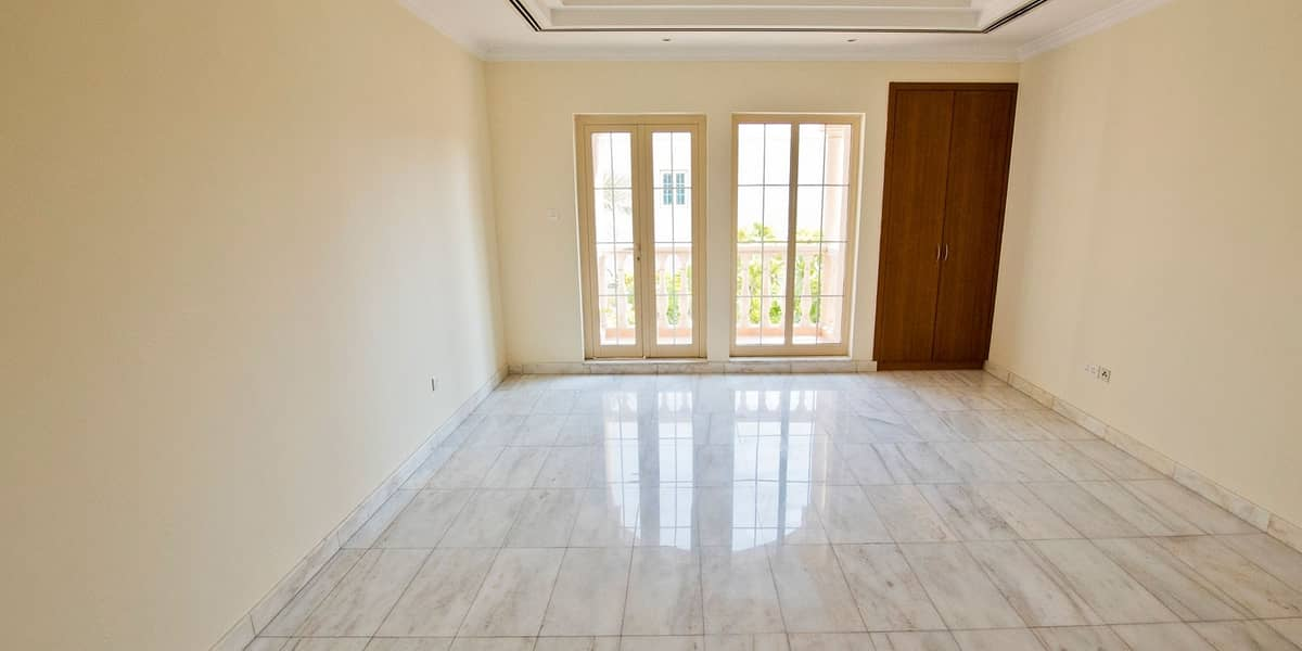 Secure warm double story family attached villa with 4 Bedrooms and 1 maid's room in Al Garhoud ideal for a big family