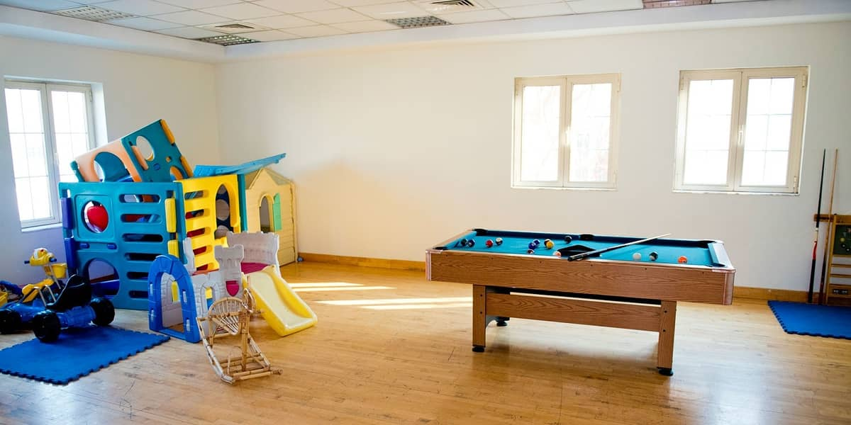 15 Secure warm double story family attached villa with 4 Bedrooms and 1 maid's room in Al Garhoud ideal for a big family