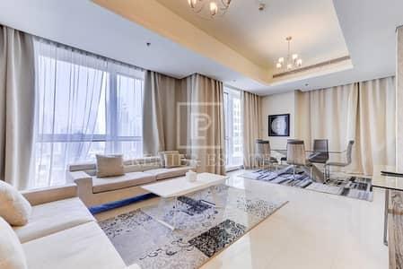 2 Bedroom Hotel Apartment for Rent in Dubai Marina, Dubai - Fully Furnished Hotel Apartment|Full Marina views
