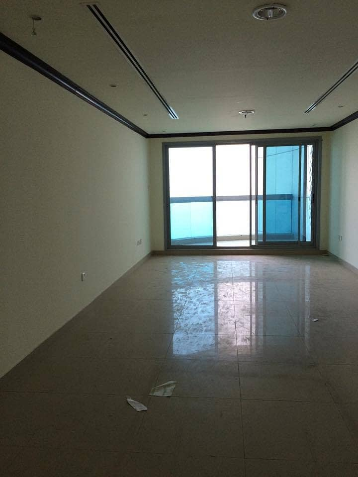 HOT DEAL!! 2 BEDROOM HALL + MAID'S ROOM + PRIVATE PARKING W/ FULL SEA VIEW IN CORNICHE TOWER AJMAN