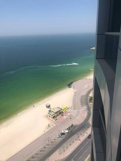 2 Bedroom Apartment for Rent in Corniche Ajman, Ajman - 2 bhk brand new with free AC in Cornish Residence for rent