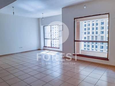 شقة 3 غرفة نوم للايجار في جي بي ار، دبي - Spacious 3 Bedroom with Partial Sea view | Vacant