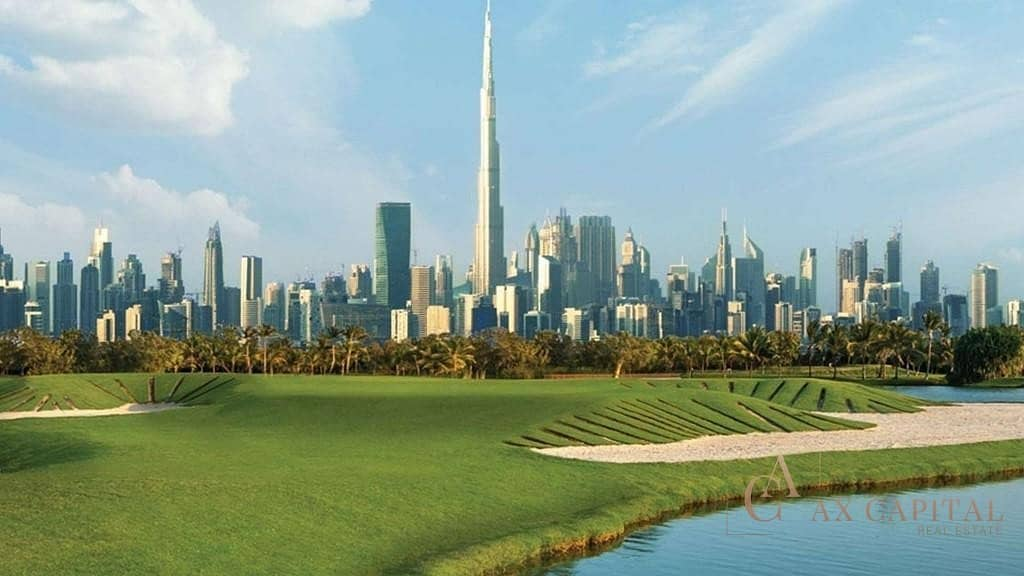 100% DLD Waiver | Sophisticated golf course view