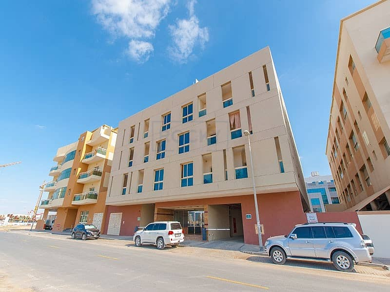 10 Beautiful 1 B/R with Central A/C& Parking | Muhaisnah