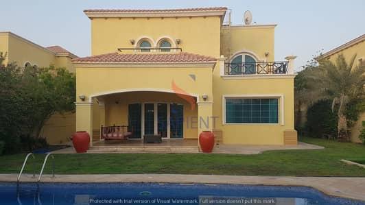 فیلا 4 غرفة نوم للايجار في جميرا بارك، دبي - Private Pool