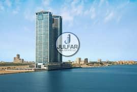 شقة في جلفار تاورز دفن النخیل 1 غرف 460000 درهم - 3989992