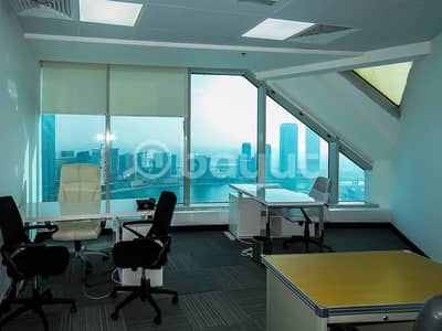 Office for Rent in Business Bay, Dubai - Amazing Office! Amazing View! No Comimision!