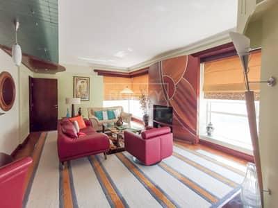 فلیٹ 2 غرفة نوم للايجار في دبي مارينا، دبي - Furnished | 2 Bed | High Floor | Close to Metro