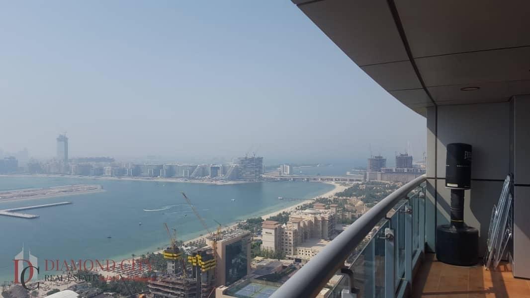 Amazing High Floor| Full Sea View| Princess Tower