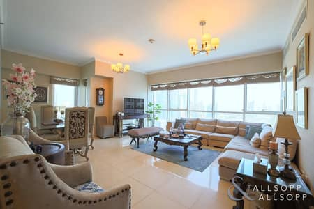 3 Bedroom Flat for Sale in Jumeirah Lake Towers (JLT), Dubai - 3 Bedroom | Square Layout | Marina Skyline