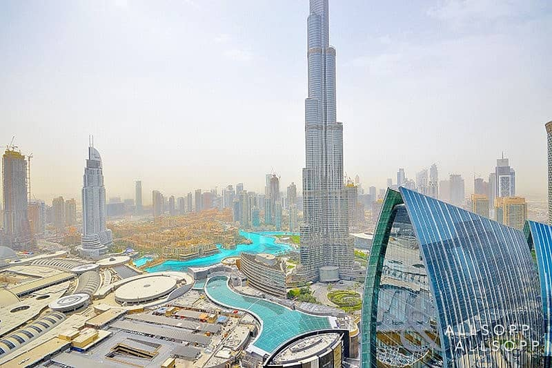 2 Bed | High Floor |Burj and Fountain View