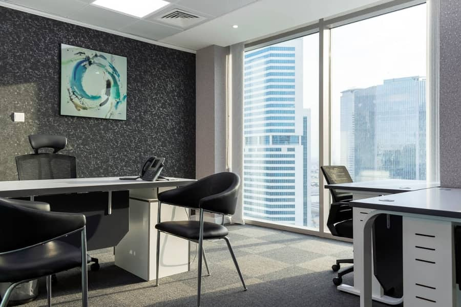 Executive fully furnished offices on rent- NO commission!