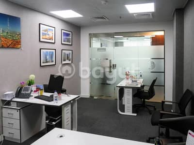 Office for Rent in Business Bay, Dubai - All inclusive furnished office space direct from landlord- NO COMMISSION