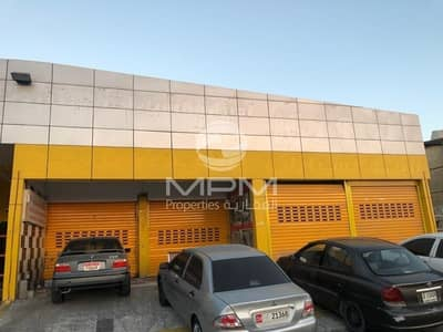 محل تجاري  للايجار في مصفح، أبوظبي - Neat & clean Shop, Mussafah Industrial M-7