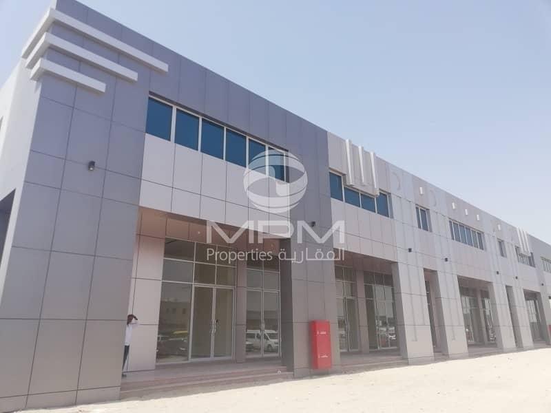 2 Month Rent Free!!! Shop Mussafah M-17 with Bath