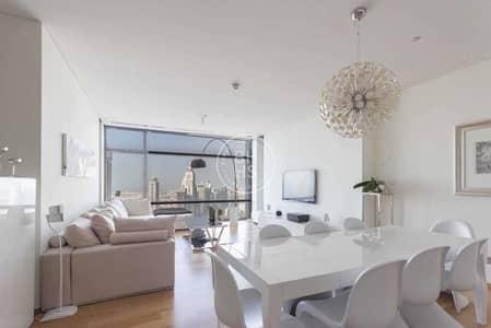 شقة 2 غرفة نوم للبيع في مركز دبي المالي العالمي، دبي - High Floor Upgraded 2 Bedrooms in Index Tower