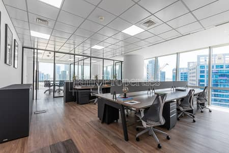 Office for Rent in Business Bay, Dubai - Fully Fitted and Furnished Office with Canal View