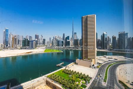 Office for Rent in Business Bay, Dubai - Large Office Space Offering Burj Khalifa View