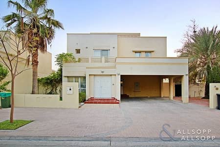 4 Bedroom Villa for Rent in The Meadows, Dubai - 4BR | Skyline Views | Opposite Pool and Park