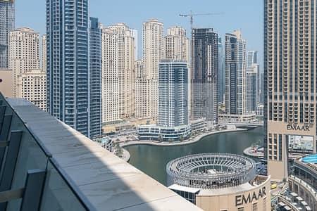 2 Bedroom Flat for Rent in Dubai Marina, Dubai - 2BR with Balcony