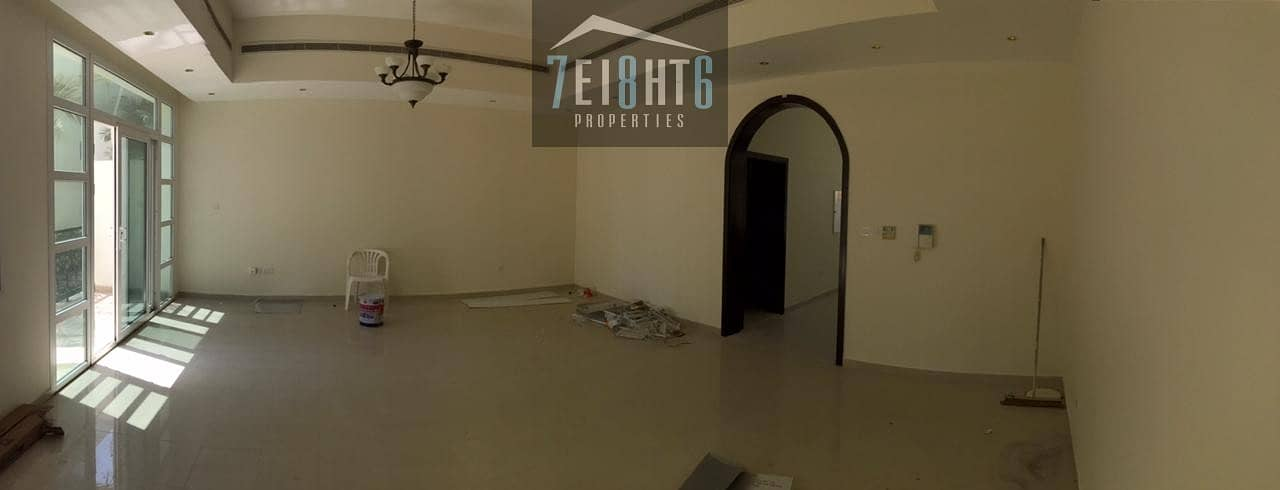 2 4 b/r compound villa + kitchen with appliances + maids room + large landscaped communal gardens + swimming pool + gym