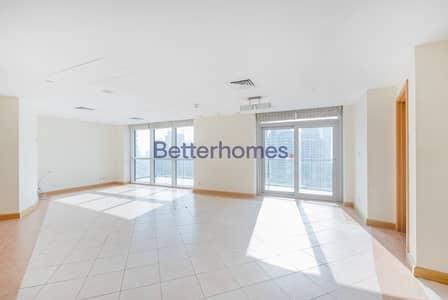 شقة 3 غرفة نوم للبيع في دبي مارينا، دبي - Vacant | High Floor | Sea and Marina View