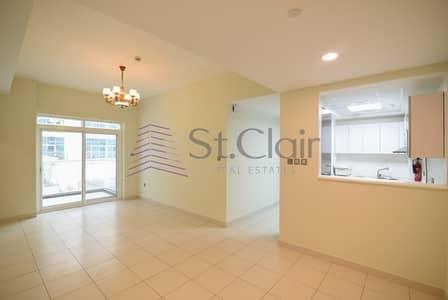 شقة 2 غرفة نوم للايجار في مدينة دبي للاستديوهات، دبي - Low Floor | 2 Beds with Balcony + Maids | Glitz 3