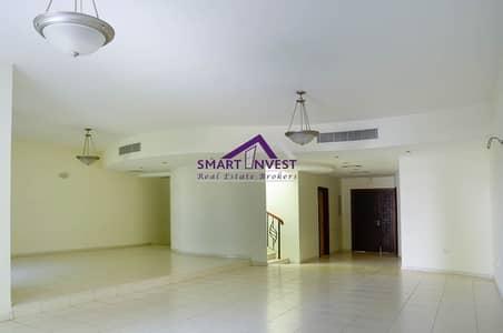 فیلا 4 غرفة نوم للايجار في البرشاء، دبي - 4 BR+Maid's+Storage Villa for rent in Al Barsha 1 for AED 180k/yr