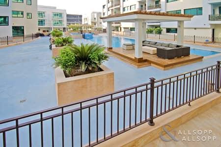 2 Bedroom Flat for Sale in Jumeirah Village Circle (JVC), Dubai - Garden Apartment   2 Bedroom   Pool View