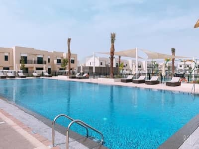 3 Bedroom Townhouse for Rent in Town Square, Dubai - Brand New Single Row Type 9 3 Br With Maids Room