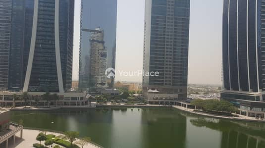 Office for Rent in Jumeirah Lake Towers (JLT), Dubai - Fully Fitted - Full Lake View - Next To Metro