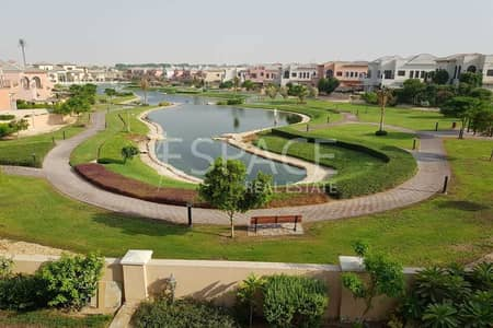 5 Bedroom Villa for Rent in Jumeirah Golf Estate, Dubai - Well Maintained - Elevator - Lake Views