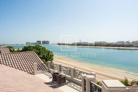 فیلا 6 غرفة نوم للبيع في نخلة جميرا، دبي - Upgraded and extended Gallery View. Priced to sell