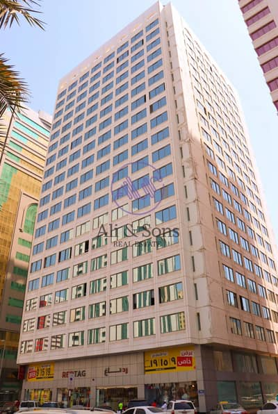 Office for Rent in Al Najda Street, Abu Dhabi - Huge Shell and core mezzanine full floor in Najda