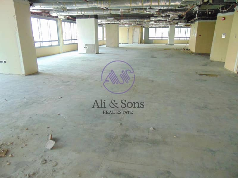 2 Huge Shell and core mezzanine full floor in Najda