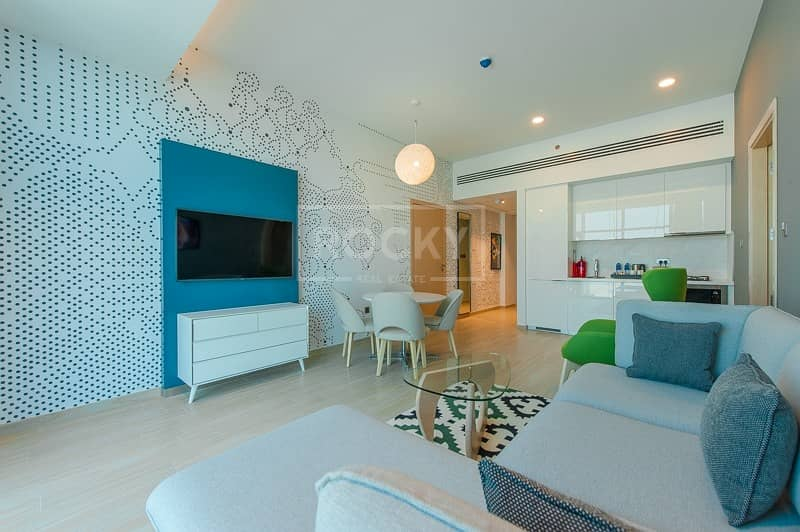 2 Brand New | Furnished | 2 Bed | Kitchen Equipped