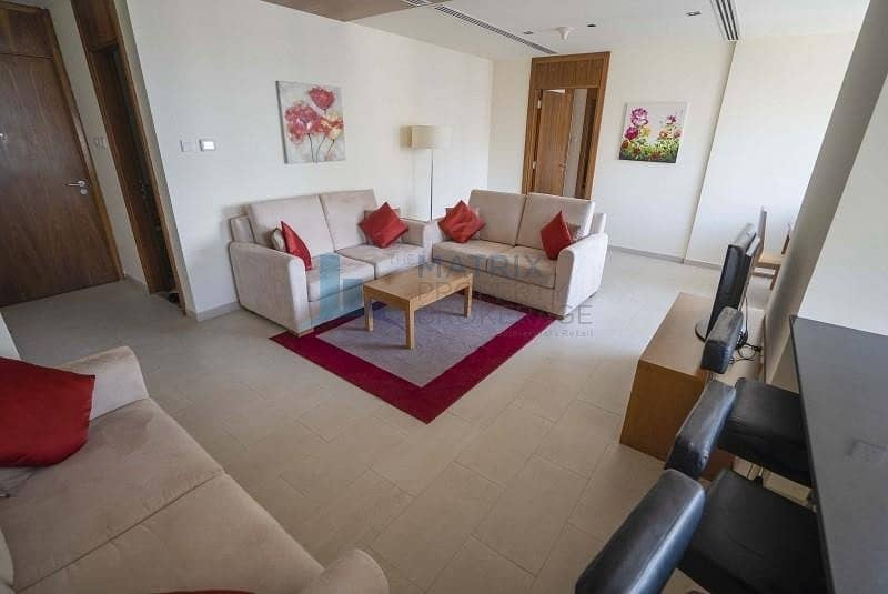 2 NEGOTIABLE/FULLY FURNISHED 1BR/AED 57K/12CHEQUES