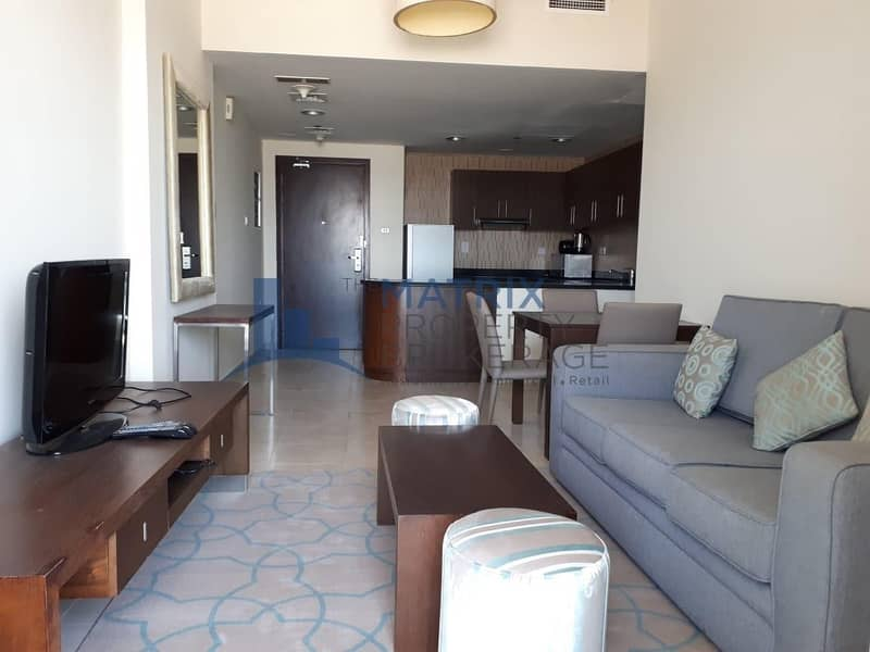 Hot Deal! 12 cheques! Furnished 2BR in Diamond Tower