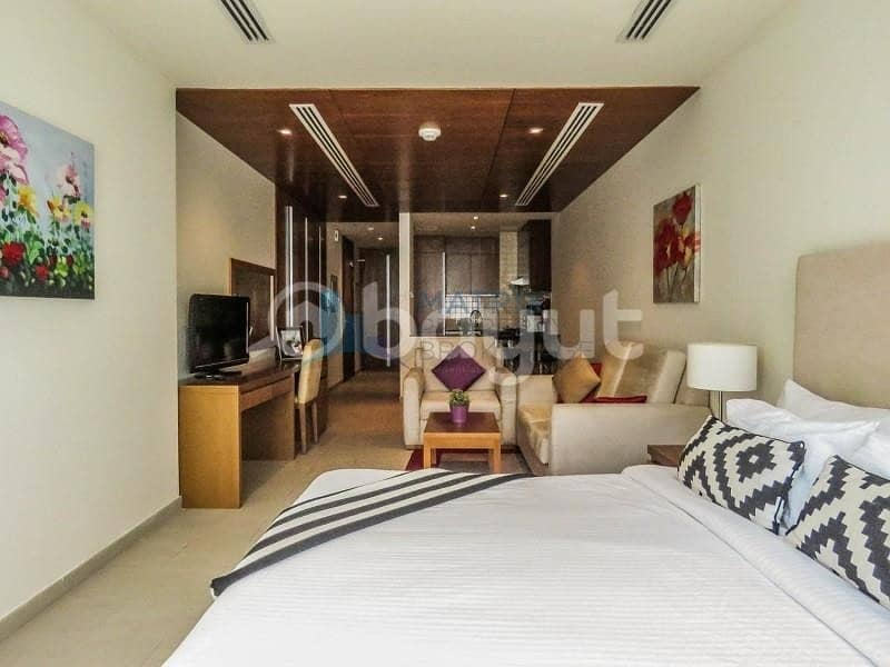 Hot Deal! Furnished Sanctuary Suite in Spirit Tower AED 43k