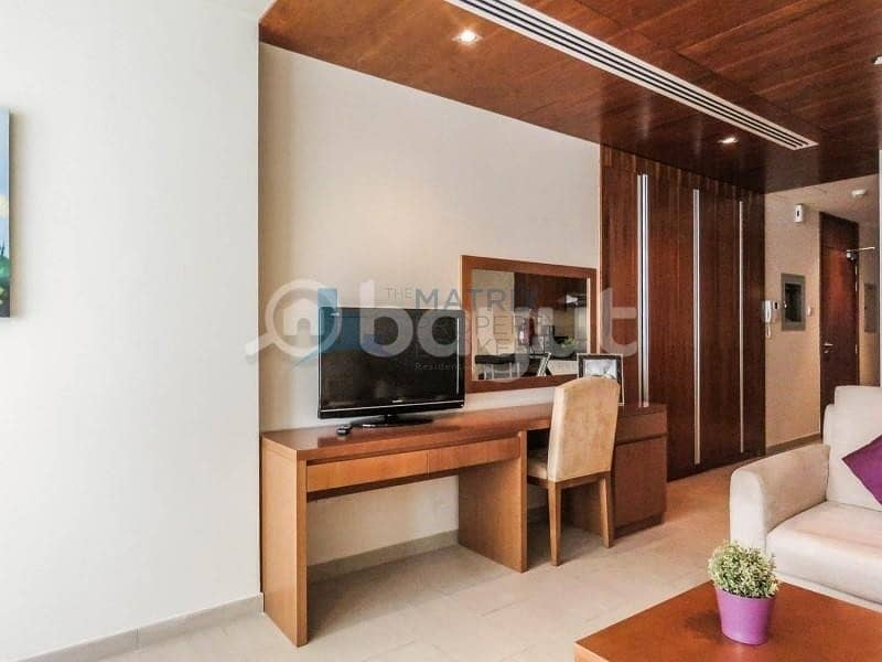 2 Hot Deal! Furnished Sanctuary Suite in Spirit Tower AED 43k