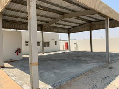 Plot for Rent in Al Saja, Sharjah - Open Land with 2 Office - For Rent