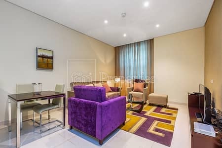 Crazy Deal! Ready/Furnished/Serviced 1BR