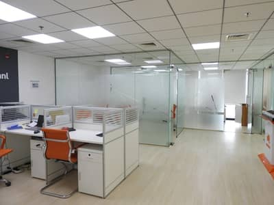 Office for Rent in Jumeirah Lake Towers (JLT), Dubai - CHILLER FREE!! LARGE FULLY FITTED OFFICE