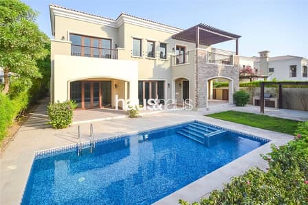 5 Bedroom Villa for Sale in Jumeirah Golf Estate, Dubai - Most sought after Valencia | Golf views | 5 B/R