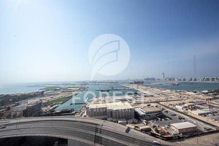 فلیٹ 2 غرفة نوم للايجار في دبي مارينا، دبي - Amazing Full Sea View | Vacant on Transfer | 2BR