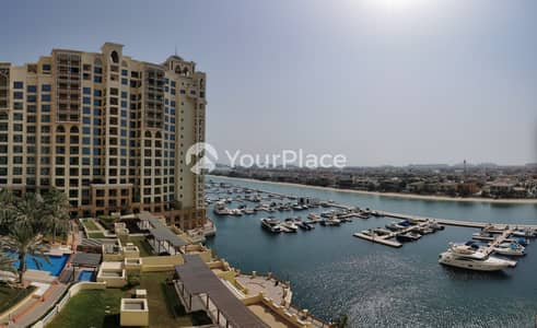2 Bedroom Flat for Rent in Palm Jumeirah, Dubai - Full Marina View And With Fully Fitted Kitchen