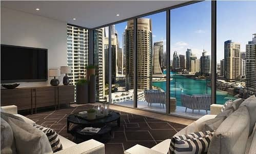 1 Bedroom Flat for Sale in Dubai Marina, Dubai - 10% on booking | Luxury Apartment with sea-view