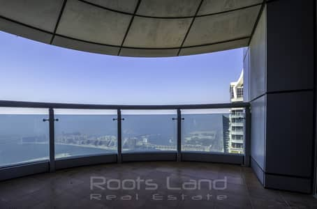 4 Bedroom Penthouse for Rent in Dubai Marina, Dubai - Breathtaking Sea View and High Floor Penthouse